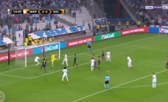 Shënohet goli i parë në ndeshjen Marseille – Salzburg (VIDEO)