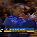 Momenti kur Nora Gjakova fitoi medaljen e artë (VIDEO)