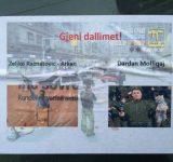 Shpërndahen afishe kundër Vetëvendosjes në qendër të Prishtinës