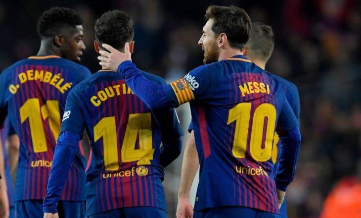 Skuadra i vihet kundër, ylli i Barcelonës mund të largohet