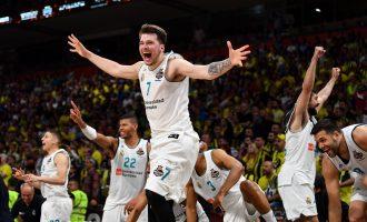 """Real Madrid """"mbretëron"""" në Evropë, Luka Doncic MVP"""