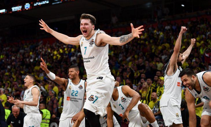 Real Madrid  mbretëron  në Evropë  Luka Doncic MVP