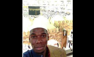 Paul Pogba bëhet pjesë a haxhit në Mekë (Video)