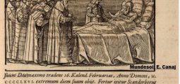 Misteret e vdekjes së Skënderbeut sipas legjendave të popullit