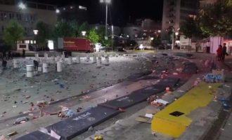 Gjendja e sheshit të Prishtinës pas finales së Ligës se Kampionëve