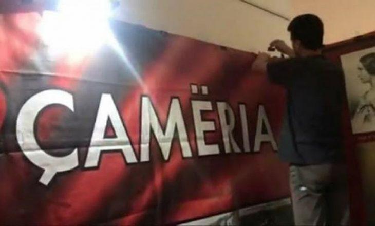 Incident me emrin  Çamëria  në panairin e librit në Tiranë