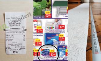 Mashtrimi i INTEREX – u shet konsumatorëve produkt me shifra të rreme