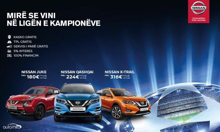 Me Nissan bëhuni pjesë e Ligës së Kampionëve – ofertë e parrezistueshme vetëm për kampionët