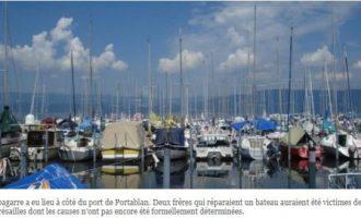 Sulmohen vëllezërit shqiptar në portin e Zvicrës