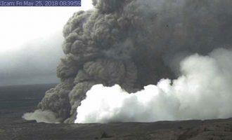 Vullkani në Hauai, llava në rrugë shkatërron shtëpitë
