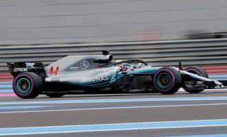 Lewis Hamilton fiton Çmimin e Madh të Francës (FOTO)