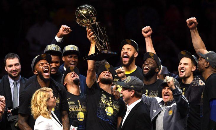 Ashtu siç është pritur, Golden State Warriors kampion (VIDEO)