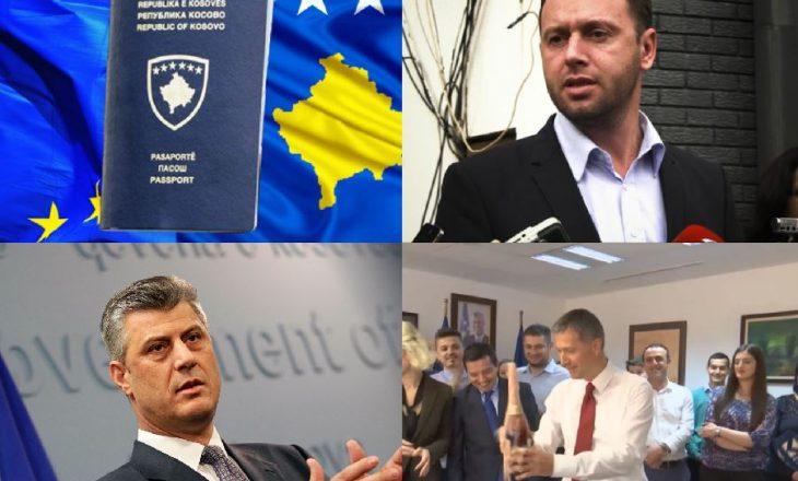 Urime liberalizimi i vizave    Gënjeshtrat e Thaçit  Abrashit dhe Qollakut