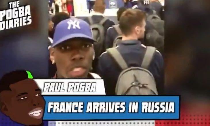 Ditari i Paul Pogba – Franca mbërrin në Rusi (Video)