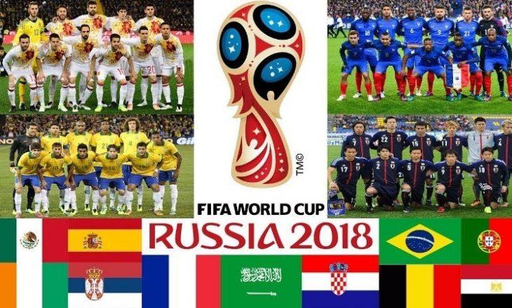 Kombëtaret me lojtarët më shtatlartë në Botëror (Foto Grafika)