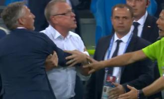 Gjermani – Suedi: Skandal në fund të ndeshjes – sharje dhe kacafytje (VIDEO/FOTO)