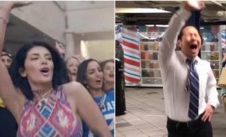 'Live it up' këndohet rrugëve të Nju Jorkut – imitohet Era Istrefi