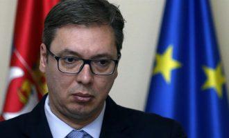 Partia serbe konteston udhëheqjën e Vuçiqit në dialogun me Kosovën