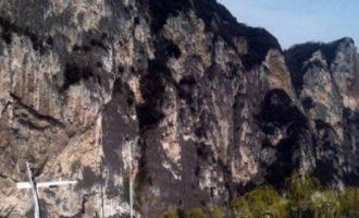 I moshuari vdes pasi bie nga shkëmbi