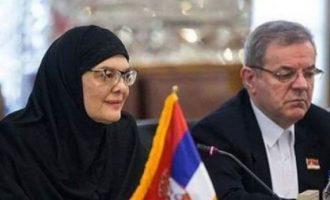 Kryeparlamentarja serbe mbulohet për t'i takuar zyrtarët e Iranit