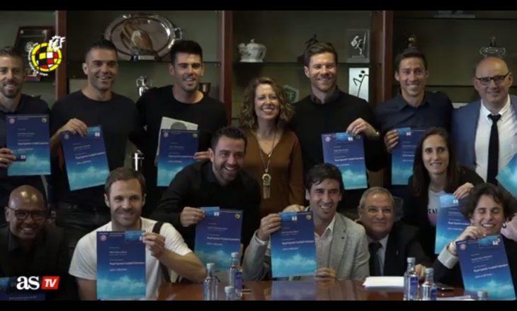 Pse është lajm që në Spanjë ka diplomuar një gjeneratë e trajnerëve?