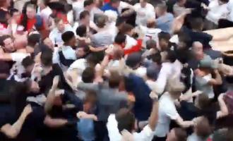 Çmenduri në rrugët e Londrës – si u festua goli i Harry Kane ndaj Tunizisë [Video]