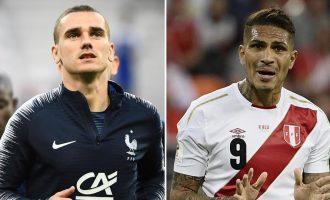 Ndiqeni Live ndeshjen e Kupës së Botës Francë – Peru (VIDEO)