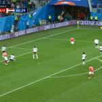 Shënohet autogol i çuditshëm në ndeshjen Rusi – Egjipt [Video]
