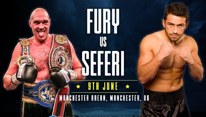 Fury vs Seferi – koha e fillimit të meçit dhe të gjitha detajet tjera