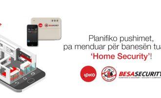 IPKO ju ofron siguri në shtëpitë tuaja