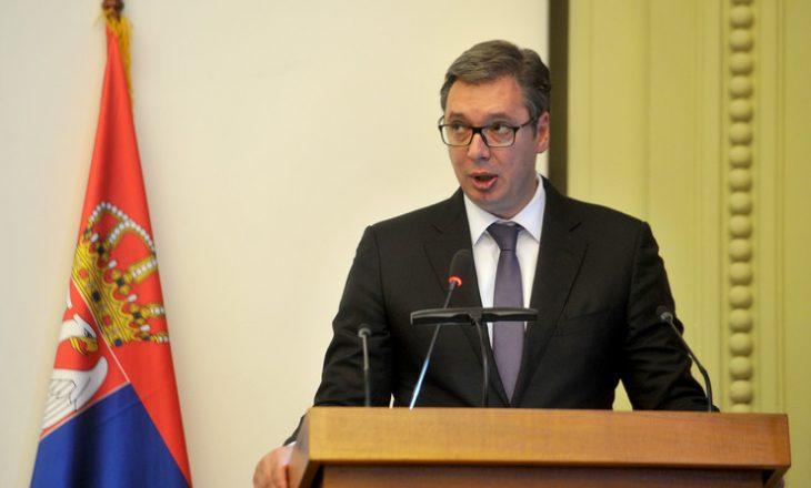 Vuçiq: Jam paralajmëruar, nëse e fusim ushtrinë në Kosovë do të përballemi me fuqinë më të madhe në botë