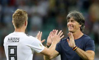 Low komenton fitoren e madhe të Gjermanisë