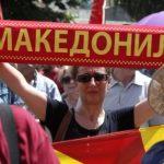 Në Maqedoni protestohet kundër marrëveshjes për emrin