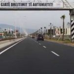 Autostrada Tiranë-Durrës e hapur për fundjavë
