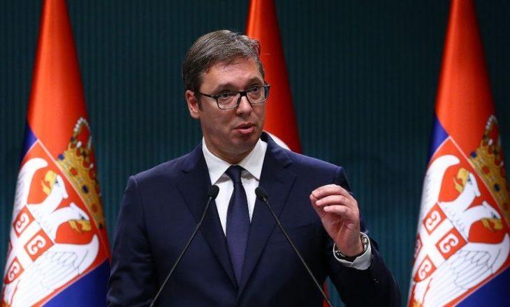 Demontimi i plotë i kryetarit serb
