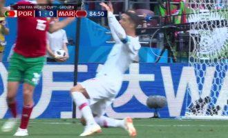 """Tifozët """"masakrojnë"""" Ronaldon për këtë veprim në ndeshjen ndaj Marokut"""