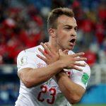 Kapiteni i Zvicrës i bashkohet festës së Xhakës e Shaqirit, bëri shqiponjën