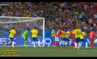 Gjyqtari i FIFA-s pohon se goli i Zvicrës ka qenë i parregullt