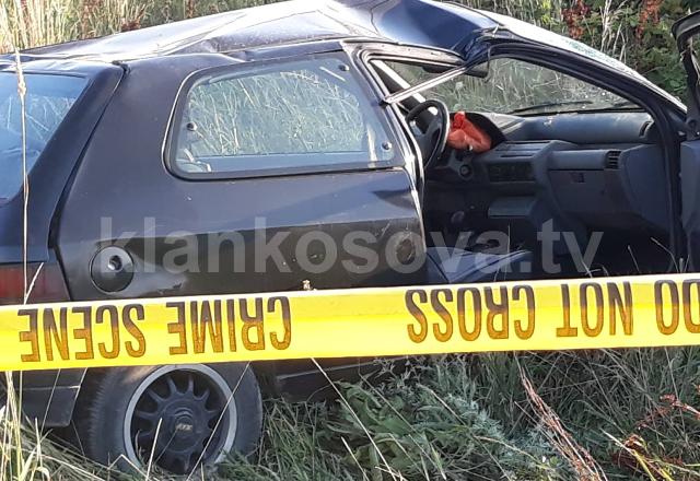 Dy të arrestuar pas rrokullisjes së veturës me drogë në Obiliq