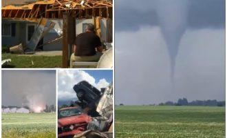 Horror në Ajova, disa tornado në kohë të njëjtë