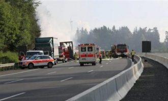Aksident i rëndë në Gjermani: 4 persona të vdekur në aksidentin mes 7 veturave