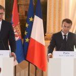 Macron bën thirrje për arritjen e marrëveshjes përfundimtare mes Kosovës dhe Serbisë