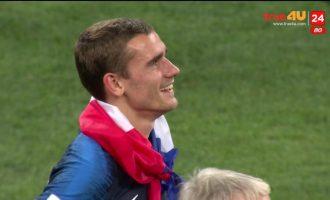 Griezmann tregon çfarë do të bëjë me Kupën e Botës