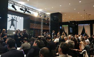 Salla e mbushur me gazetarë – prezantimi i Ronaldos LIVE