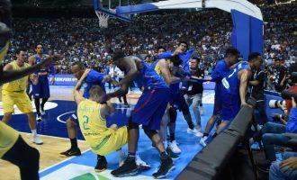 FIBA shqipton dënimet për pjesëmarrësit në rrahjen masive