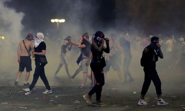 Festimi në Francë u shndërrua në natë plotë dhunë
