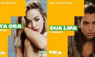 Përballja direkte Rita vs. Dua, cila do të fitojë më shumë në VMA