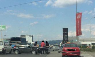 Aksident në rrugën Prishtinë-Fushë Kosovë
