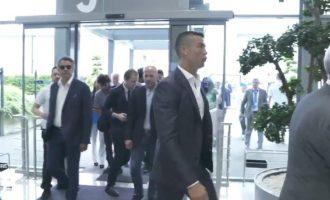 Ronaldo së bashku me tifozët: Juve, Juve!