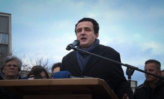 Albin Kurti paralajmëron demonstrata në vjeshtë